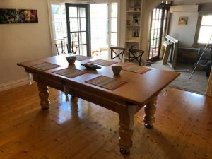 pool dining table melbourne