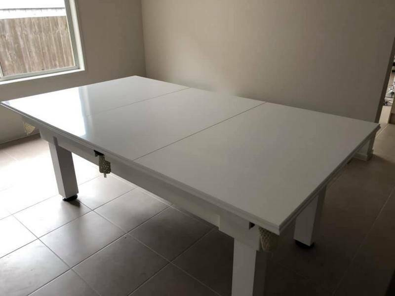 pool table with dining top melbourne